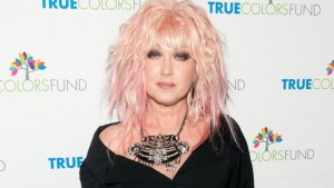 Cyndi Lauper at a red carpet event. (Courtesy: ABC News)