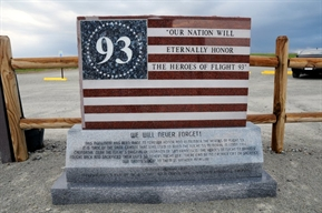 Flight 93 Memorial in Shanksville, PA