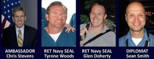 The victims in Benghazi, Libya on September 11, 2012.