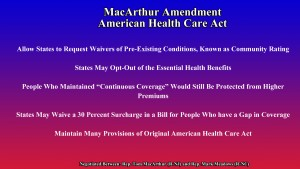 "The MacArthur Amendment to the American Health Care Act ""The Neil A. Carousso Show"")"